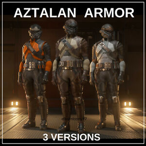 STAR CITIZEN - AZTALAN COMPLETE ARMOR SET  - 3 VERSIONS