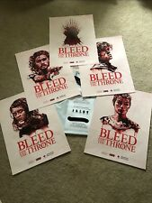 Game Of Thrones Red Cross  Bleed For The Throne 6 Poster Set