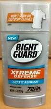 2 Pack Right Guard Xtreme Defense 5in1 Protection Arctic Refresh Solid 2.6 Oz Ea