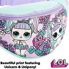LOL Surprise! LOL Dolls Bum Bag for Girls Teens Children's Waist Bag Fanny Pack