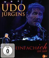 "UDO JÜRGENS ""EINFACH ICH LIVE 2009"" BLU RAY NEU"