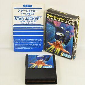 STAR JACKER Sega SC-3000 SG-1000 2201 sc