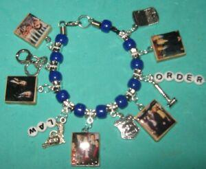 Law & Order  Beaded Charm Bracelet