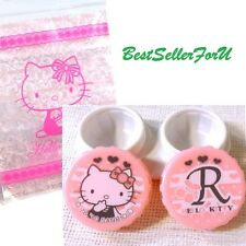 Japan Import Sanrio Eyes Contact Lens Container Box Vision Case Holder w/ Pocket