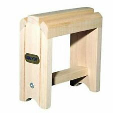 Sturdy & Realistic Traditional Toy Wood Saddle Stand for Kids 4+