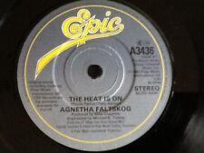 AGNETHA FALTSKOG  ( ABBA ) . THE HEAT IS ON / MAN . 1983 . NEAR MINT .