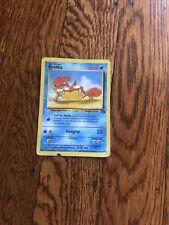 krabby pokemon card