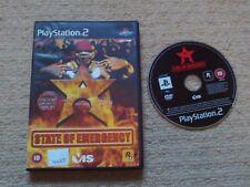 State Of Emergency - Selten Sony PS2 Spiel