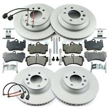 2x Original UAT Disque de frein VW TOUAREG 7 L PORSCHE CAYENNE 955 brake discs