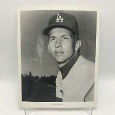 "DON SUTTON - Los Angeles Dodgers Baseball - 8"" x 10"" Black & White Photograph"