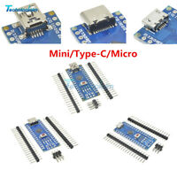 1/2/5/10PCS 5V Mini/Type-C/Micro Nano V3.0 USB ATmega328 CH340G Kit For Arduino