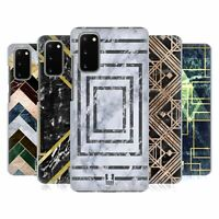 HEAD CASE DESIGNS GEOMETRIC MARBLE HARD BACK CASE FOR SAMSUNG PHONES 1