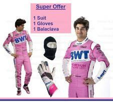 2020 f1 Lance Stroll Racing Point SUIT and Gloves Karting Suit Karting Gloves