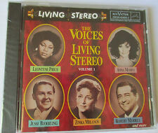 THE VOICES OF LIVING STEREO - VOLUME 1-  CD - NEW