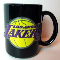 LA Lakers NBA Los Angeles Basketball Pewter Logo Coffee Mug