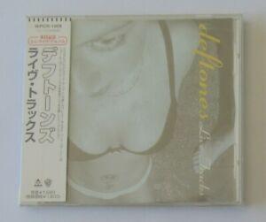 """♪♪ DEFTONES """"Live tracks"""" Maxi CD single (JAPAN press) ♪♪"""