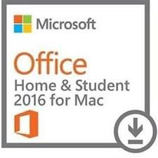 Microsoft Office Home & Student 2016 for Mac Electronic Software Download