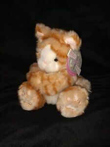 First & Main Kit Kats 8 Inch Orange Stripe Plush Tabby w/tags