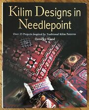 Kilim Designs in Needlepoint by D. Wood, with 2 other books on Kilims by M. Ates