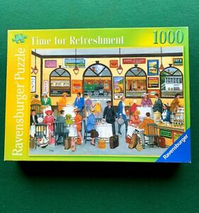 "Ravensburger  1000 piece Jigsaw Puzzle  "" Time For Refreshment"""