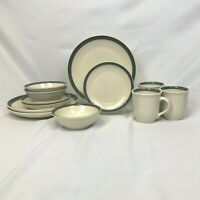12 PIECE SET PFALTZGRAFF JUNIPER DINNERWARE DINNER SALAD PLATE BOWL MUG