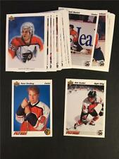 1991/92 Upper Deck Philadelphia Flyers Team Set 30 Cards Peter Forsberg RC