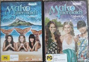 "MAKO MERMAIDS  X 2      ""SEASON 3  -  VOLUME 1 & 2""    R.4    DVD's"