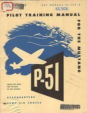 P-51 Mustang Flight Training Manual * CDROM * PDF