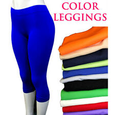 NEW WOMEN FASHION 12 DIFFERENT COLORS OF STRETCH LEGGINGS