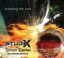 STUDIO-X vs. SIMON CARTER Breaking The Void LTD.2CD BOX 2014