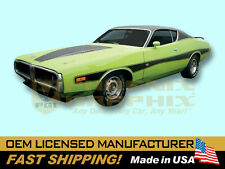 1973 1974 Dodge Charger Rallye Decals & Stripes Kit