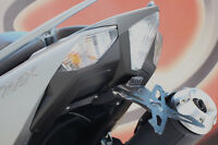 EVOTECH PORTATARGA REGOLABILE RECLINABILE YAMAHA T-MAX 530 2012 2013 2014 2015