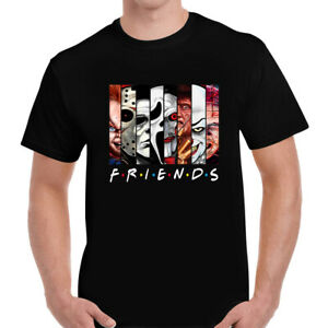 HALLOWEEN HORROR SCARY SPOOKY Popular Friends T-shirt Tshirt Top Tee Mens Unisex