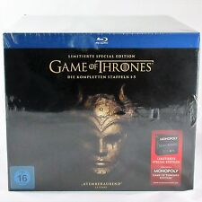 GAME OF THRONES Staffel 1-5 Limitierte Special Edition DIGIPACK inkl. MONOPOLY
