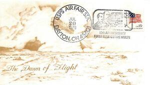 10th ANNIVERSARY APOLLO 11 DAWN OF FLIGHT DAYTON, OH CACHET 7/20/79 -  SC#1597