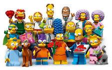 LEGO MINIFIGURES SERIE COMPLETA 16 PERSONAGGI SIMPSONS serie 2 SIMPSON 71009