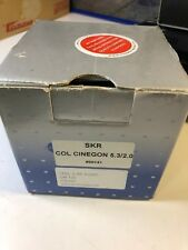 "SCHNEIDER OPTICS 21-036939 5.3MM F2.0 1/3"" IRIS C-MOUNT 3-CCD Cinegon 2.0"