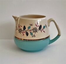 Keele Street Pottery Talk of The Town Creamer blue and white jug