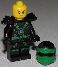 Lego New Lloyd Ninjago Minifigure Ninja Minifig Round Torso Emblem Green Fig