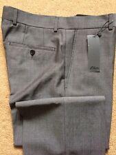 "S.Oliver Men's Hose Grey Trousers, W34"", L33"", RRP£70"