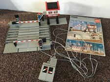 Lego Vintage 12V Train Level Crossing Electric Set 7866