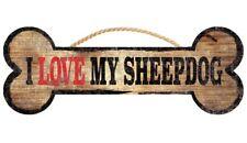 Old English Sheepdog Sign – I Love My Bone 3×10