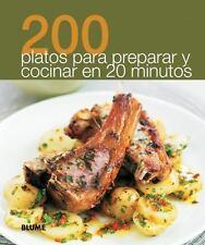 200 platos para preparar y cocinar en 20 minutos (200 Recetas)-ExLibrary