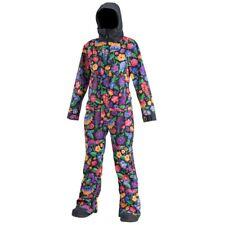 Airblaster Womens Ski Snowboard Freedom Suit Flowers RRP $629