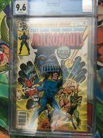 Micronauts #1 CGC 9.6 MCU coming! 1st Galactic Warrior