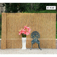 6'X16' Reed Screening Garden Balcony Wind Protection Privacy Fencing Fence Panel