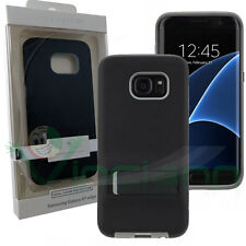 Custodia Tough Stand CASE.MATE pr Samsung Galaxy S7 Edge G935F cover Nero/Grigio