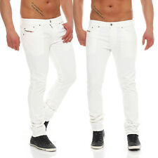 Diesel Jeans Thavar 0847E Men's Trousers Skinny Jeans Stretch White WOW NEW