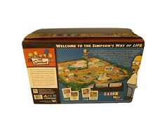 The Game of Life The Simpsons Edition Board Game Milton Bradley 2004