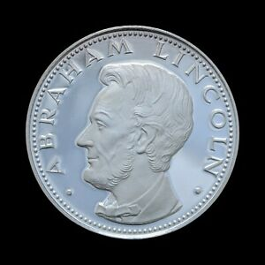 150 Guaranies 1974 Abraham Lincoln, Paraguay Proof